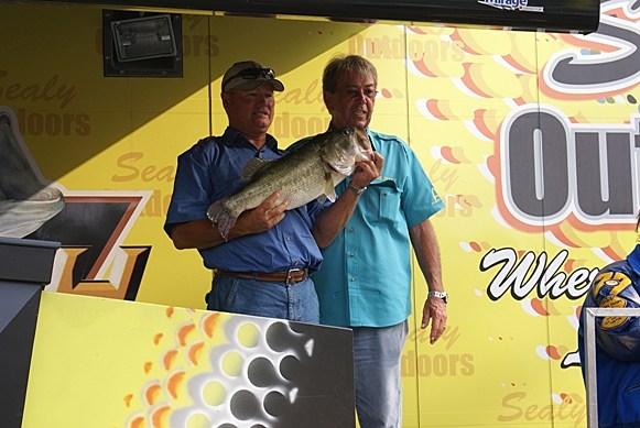 Robert Laird with winning fish