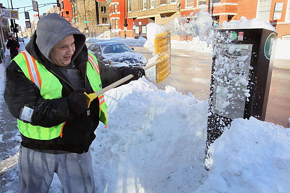 Chicago Begins To Dig Out After Massive Blizzard