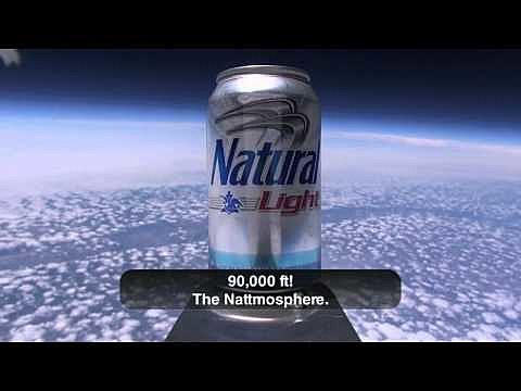 natural light space flight