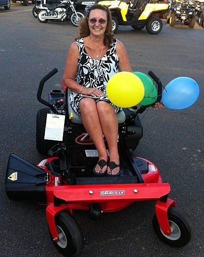 Gravely mower winner 2012