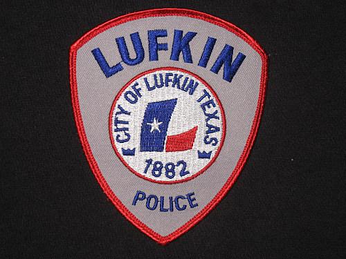 Lufkin Police badge