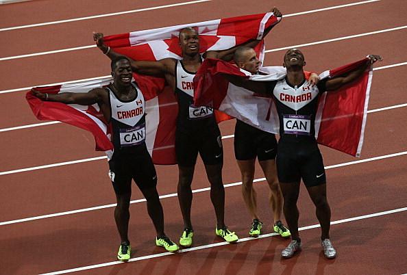 Canada track team