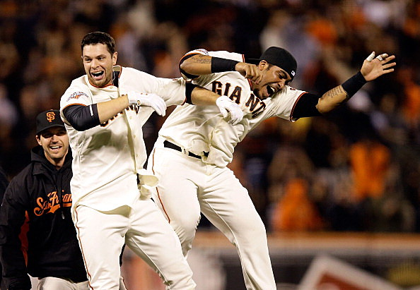 Brandon Belt walk off single