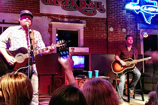 Randy Rogers and Wade Bowen Live