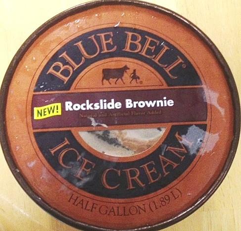 Blue Bell Rockslide Brownie