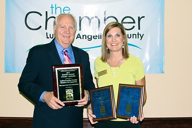 Tami Jones of Townsquare Media and Billy Ball, Justice of the Peace