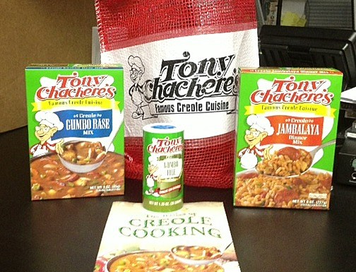 tony chachere prize pack