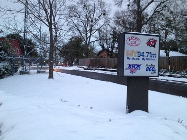 Snow day at KICKS