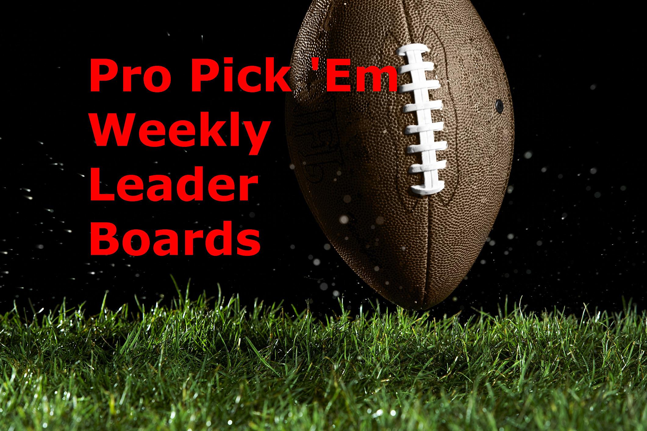 pick em leader