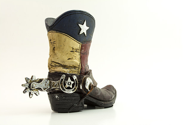 Texan Flag Cowboy Boot