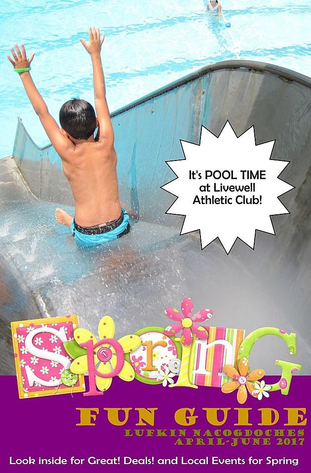 Spring Fun Guide Cover