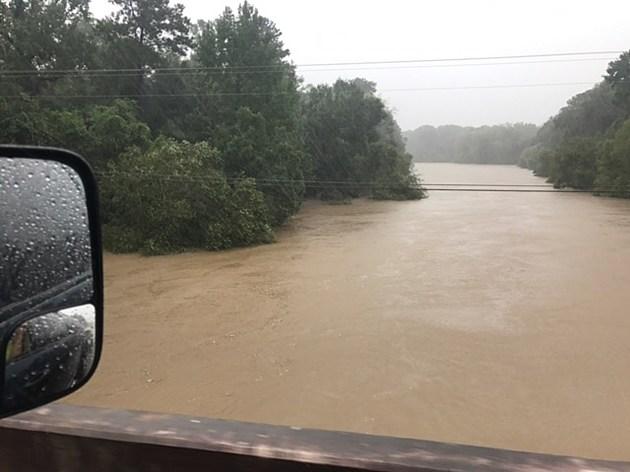 Neches River south of Zavalla