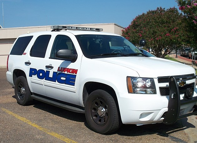 Lufkin Police vehicle